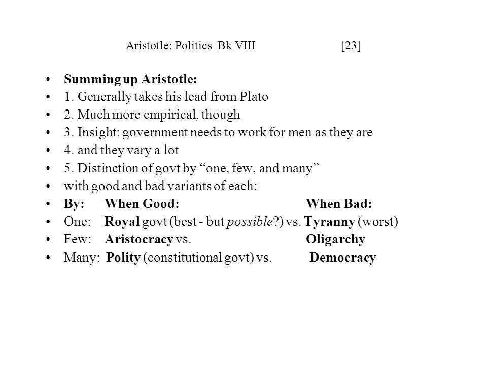 aristotle politics book 5 pdf